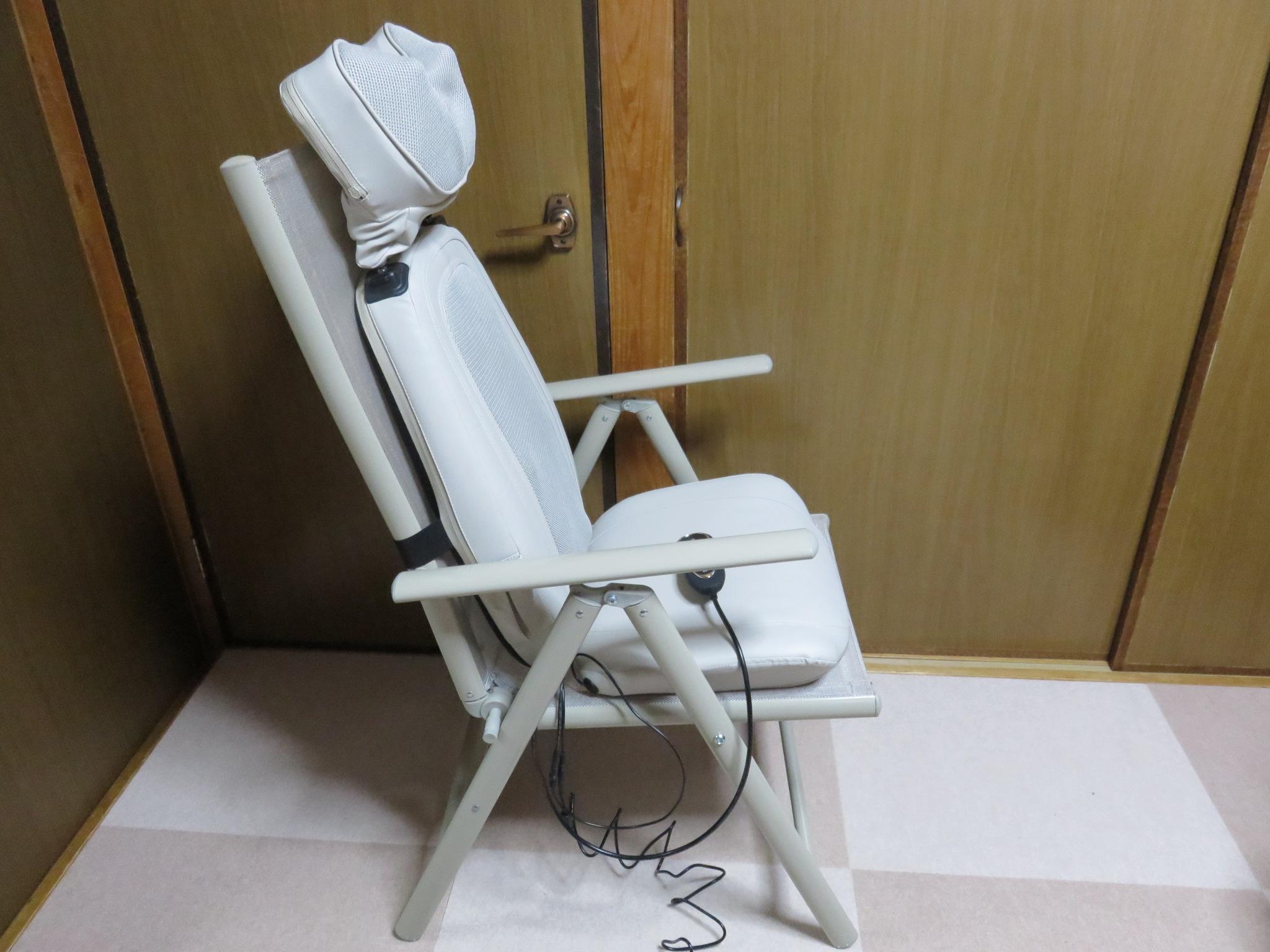 コンパクトマッサージ機 マッサージチェア【モミマー】買いました!
